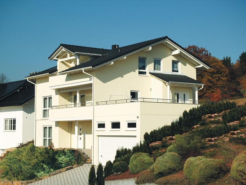 haus geno 120 mehrfamilienhaus fertighaus energiesparhaus von b b haus. Black Bedroom Furniture Sets. Home Design Ideas