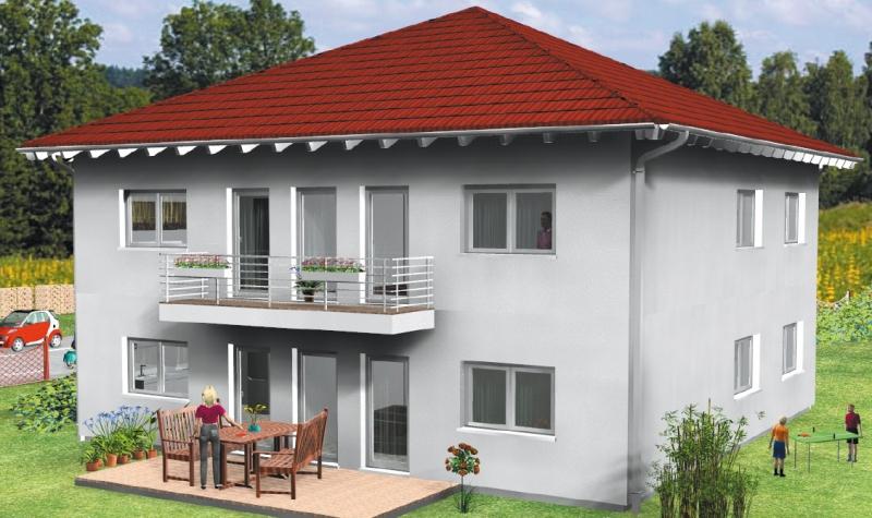 haus verona stadtvilla fertighaus energiesparhaus von b b haus. Black Bedroom Furniture Sets. Home Design Ideas