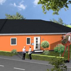 bungalows bungalow fertighaus energiesparhaus von b b haus. Black Bedroom Furniture Sets. Home Design Ideas